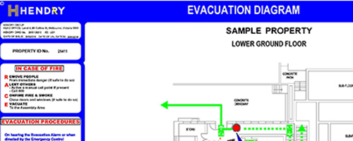 Emergency Planning_Evacuation Diagrams