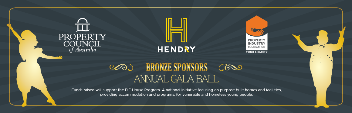 Hendry are bronze sponsors for the Property Council of Australia Gala Dinner