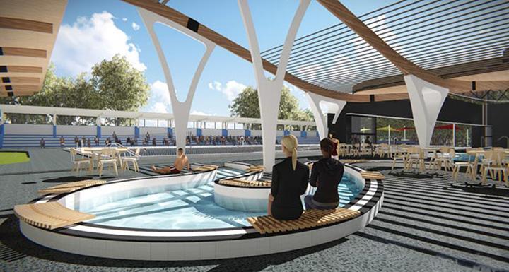 Aquatic Centre Stairs